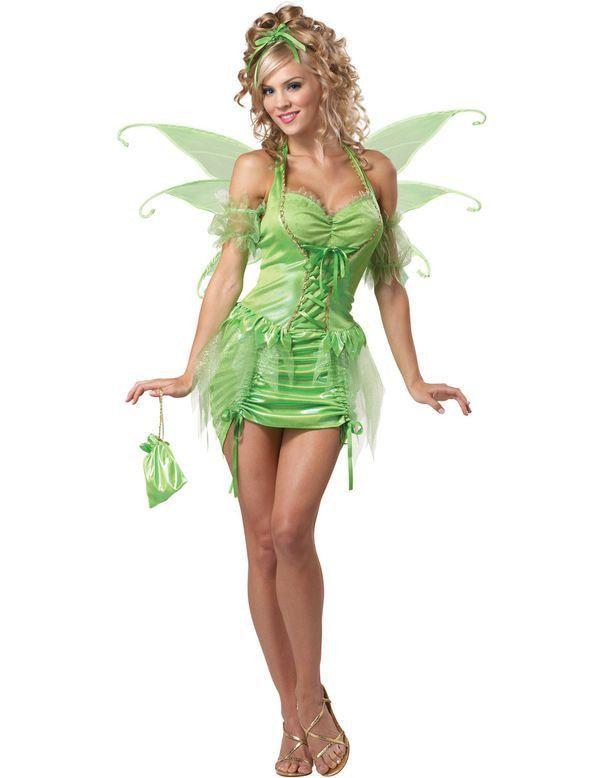 Tinkerbell Elf Vrouw Kostuum