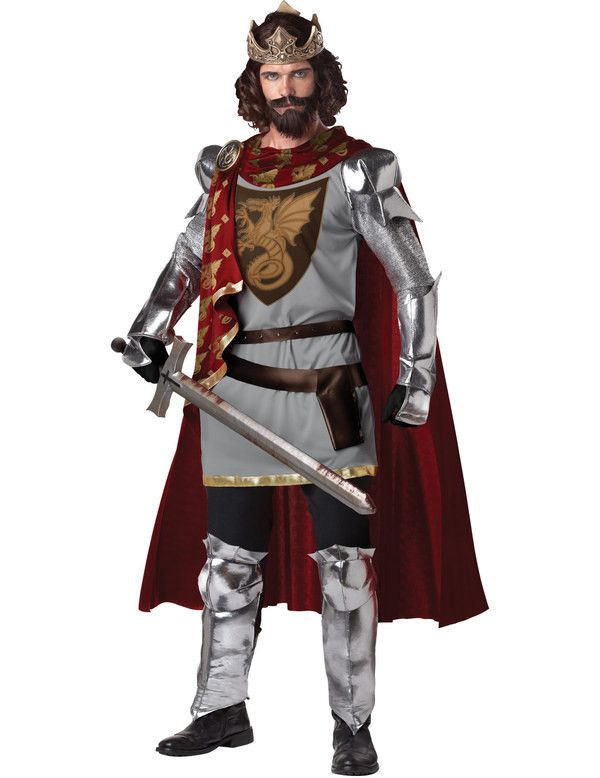 Koning Arthur Man Kostuum