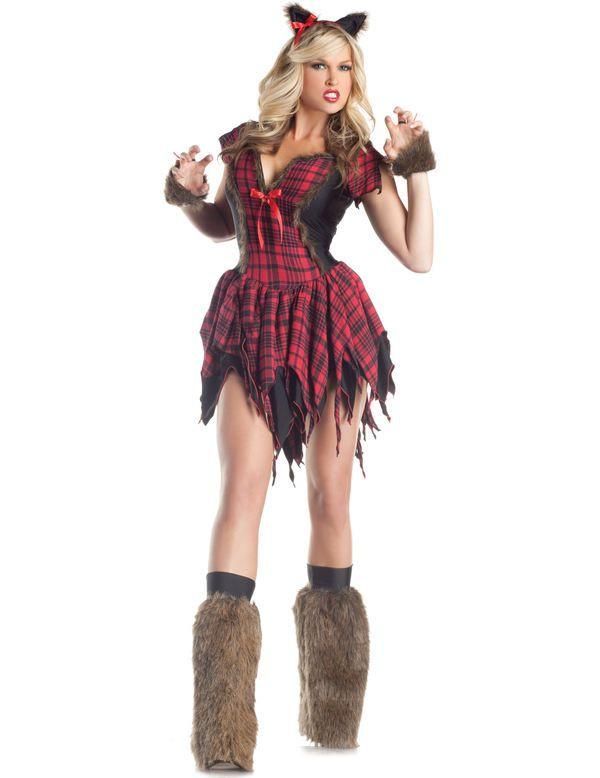 Sexy Weerwolf Dames Vrouw Kostuum