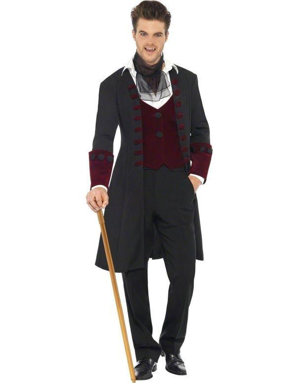 Vampier Kostuum Klassieke Heer Man