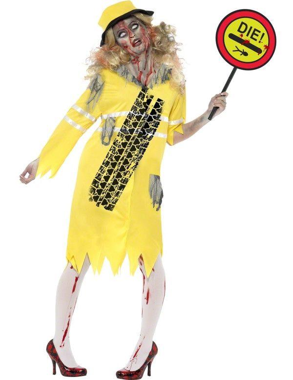 Zombie Klaar-Over Dames Vrouw Kostuum