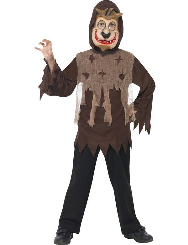 Kind Weerwolf Kostuum Jongen