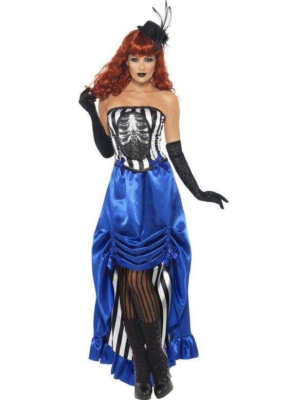 Halloween Burlesque Vrouw Kostuum