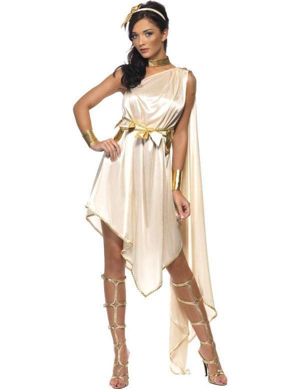 Sexy Godin Vrouw Kostuum