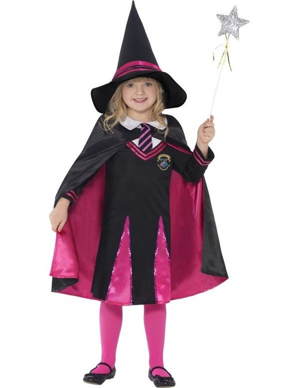 Schoolmeisje Heks Kostuum