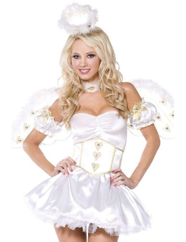Engel Jurk Vrouw Kostuum