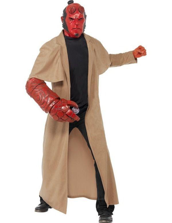 Hellboy Man Kostuum