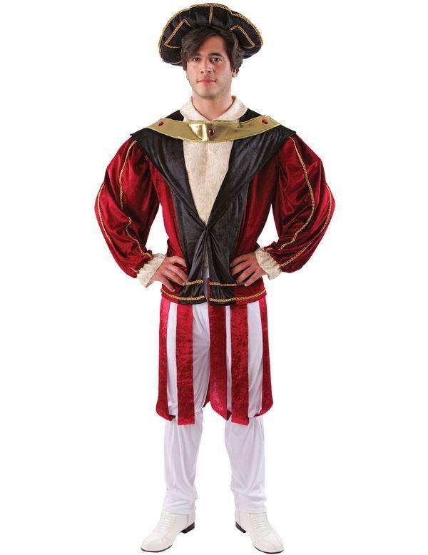 Koning Henry Viii Man Kostuum