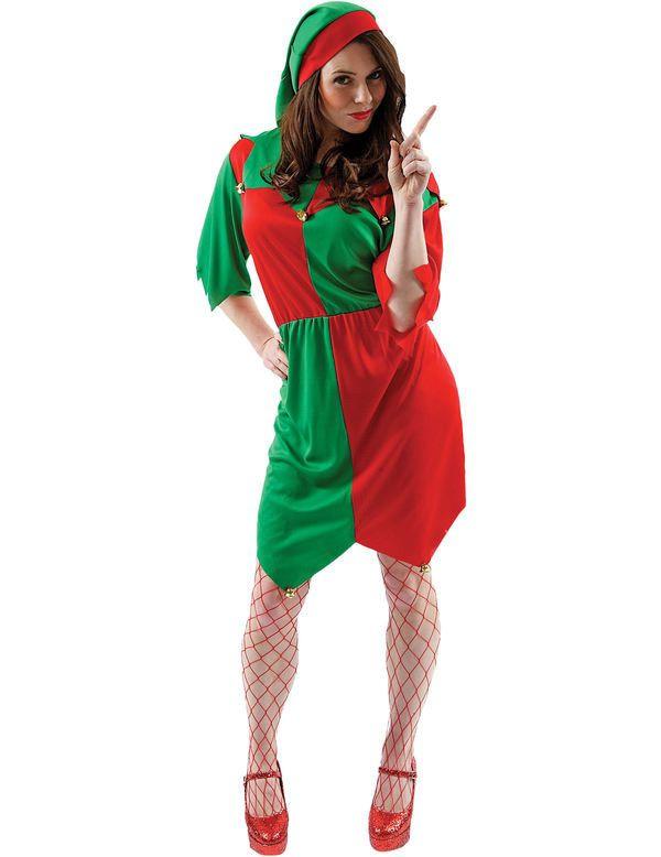 Vrouwelijke Elf Vrouw Kostuum