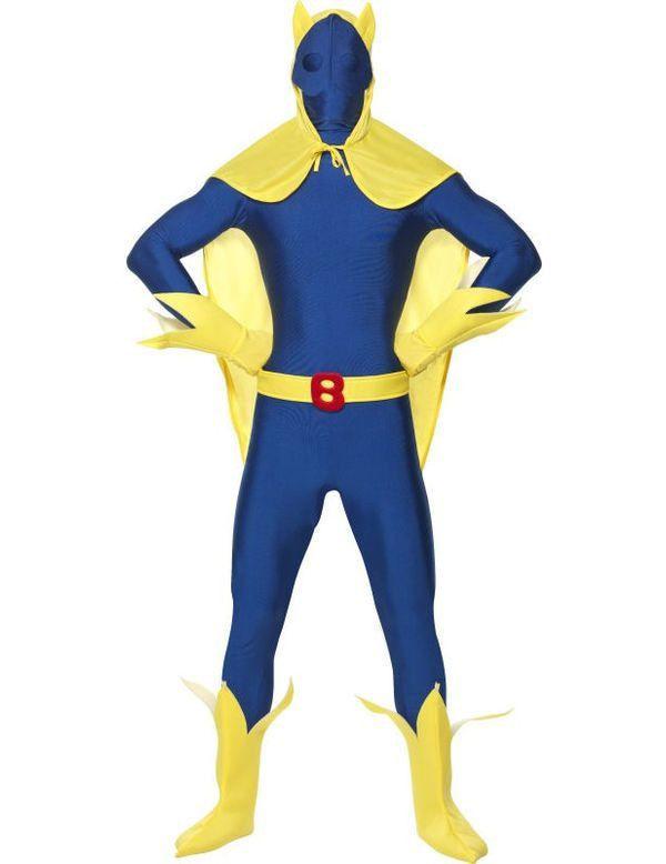 Bananaman Second Skin Kostuum