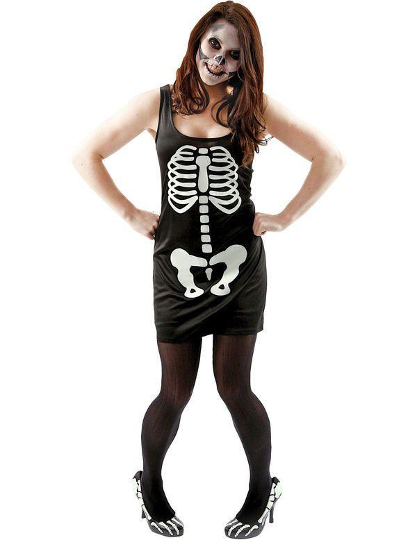 Skelet Jurk Vrouw
