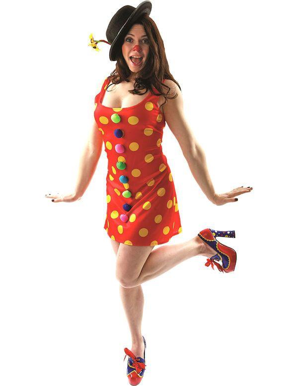 Clown Jurk Vrouw