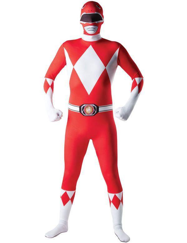 Power Ranger Second Skin Suit Kostuum