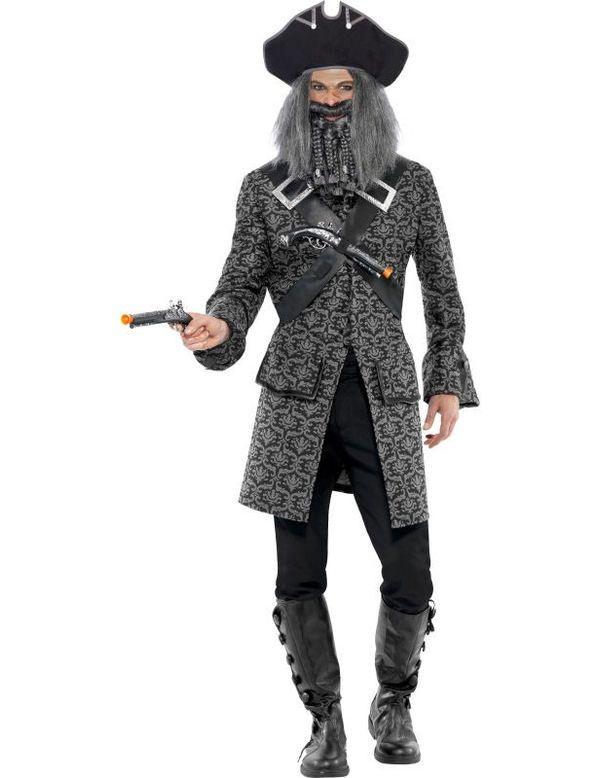 Chique Piraat Zondagskostuum Man Kostuum