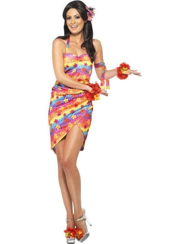 Hawaiiaanse Jurk Vrouw