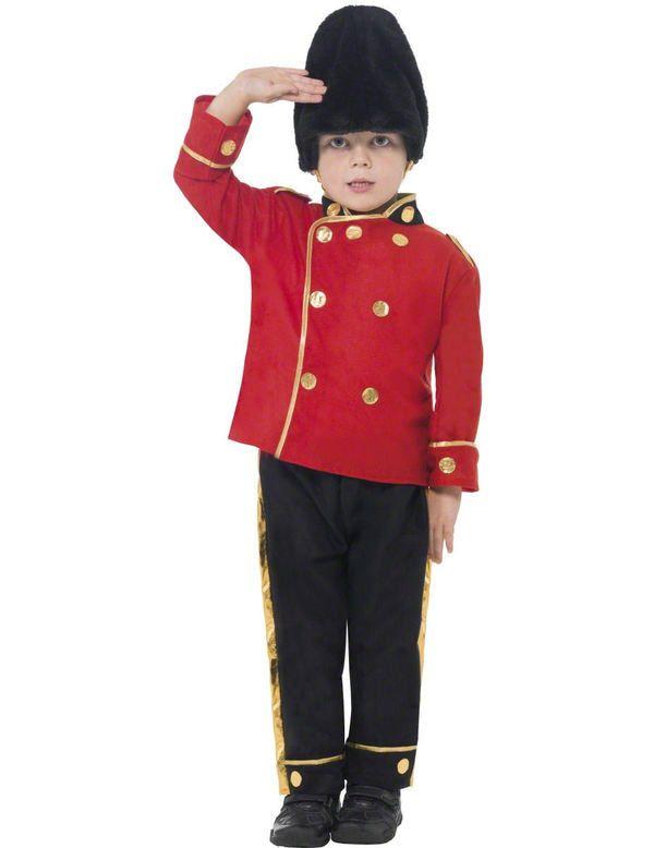 Kind Engelse Guard Kostuum Jongen