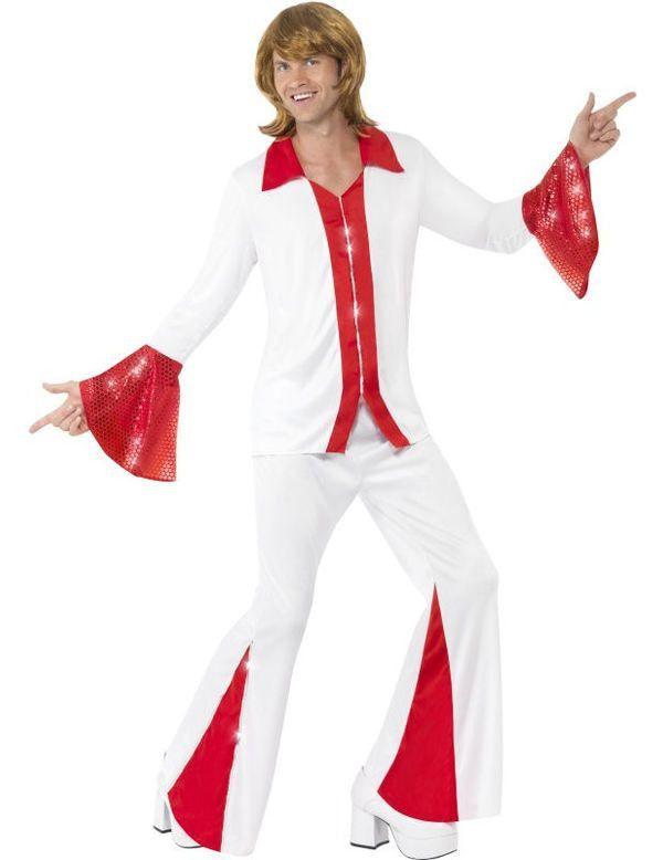 Heren Super Trooper Man Kostuum