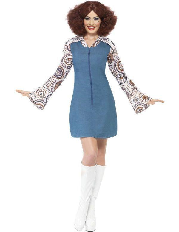 70s Danseres Vrouw Kostuum