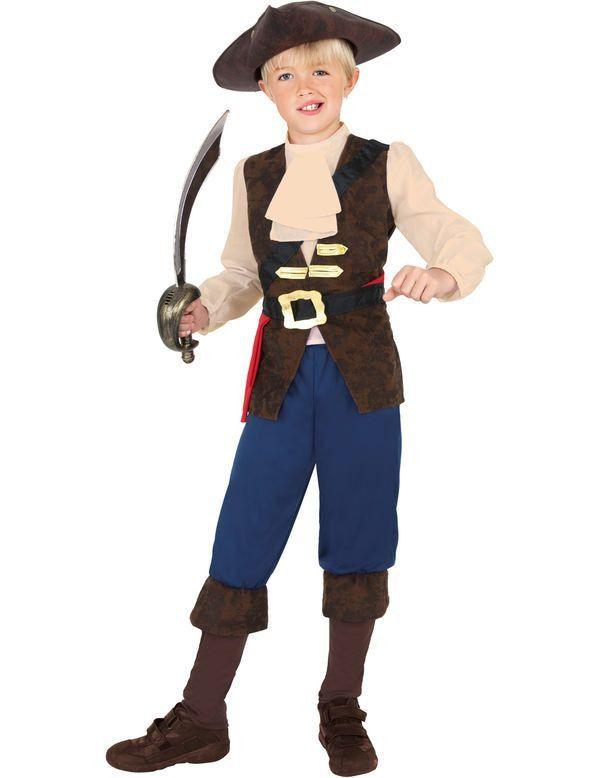 Kind Piraat Jack Boy Kostuum Jongen