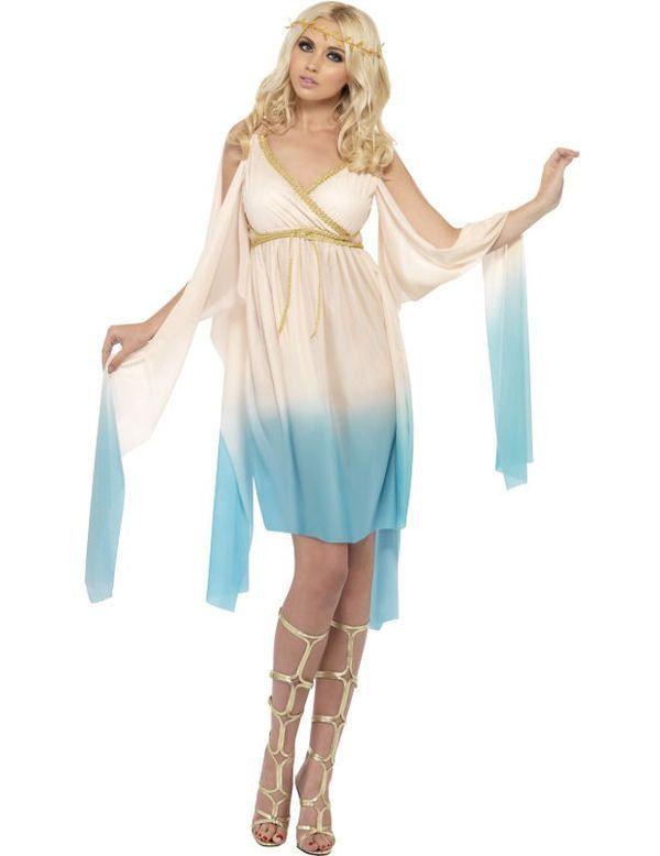 Sexy Griekse Prinses Vrouw Kostuum