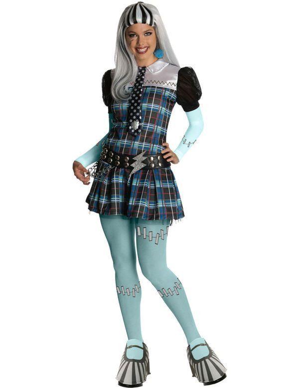 Monster High Frankie Stein Vrouw Kostuum