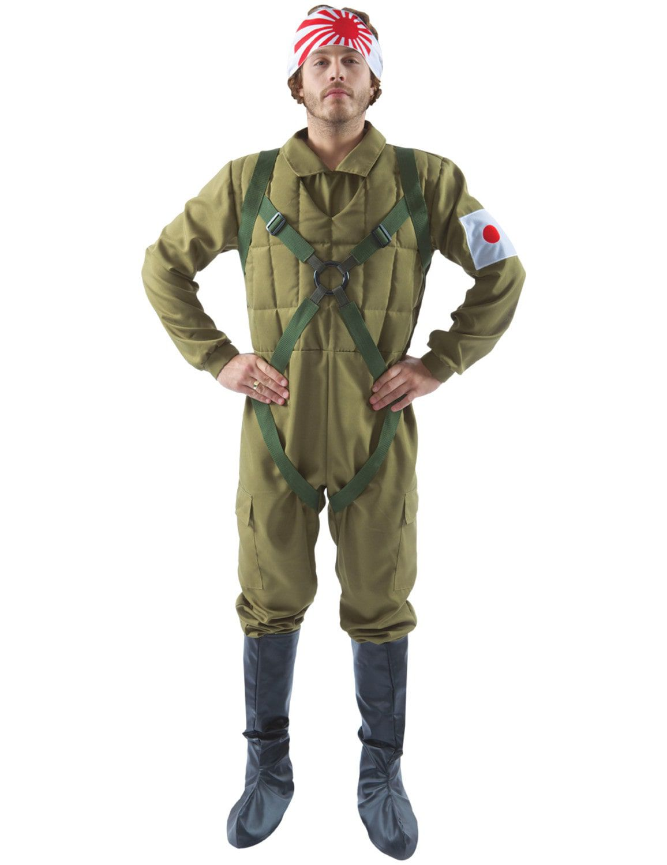 Japanse Kamikaze Piloot Man Kostuum