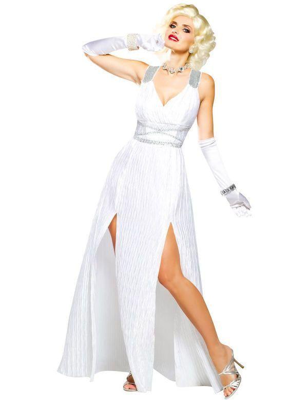 Marilyn Monroe Vrouw Kostuum