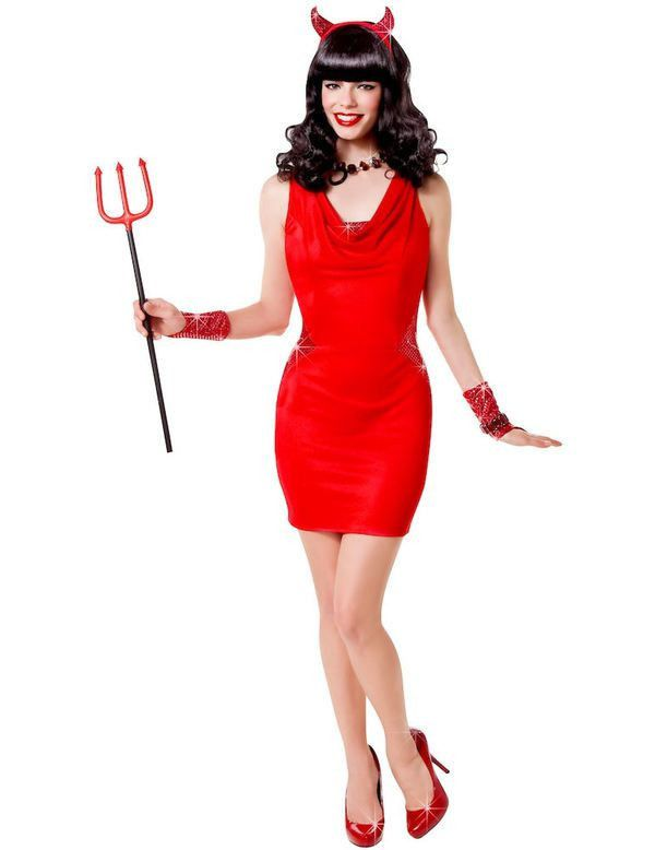Duivel Chique Vrouw Kostuum
