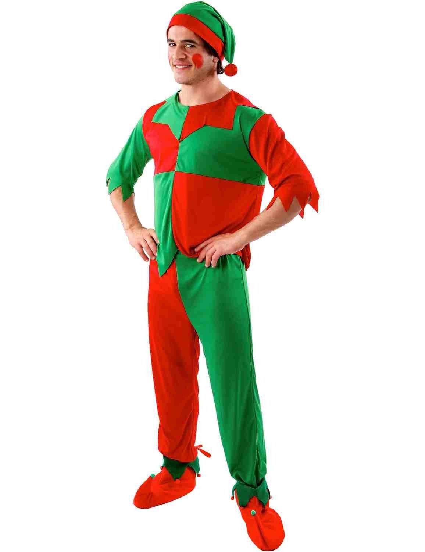 Mannelijk Kerst Elf Kostuum
