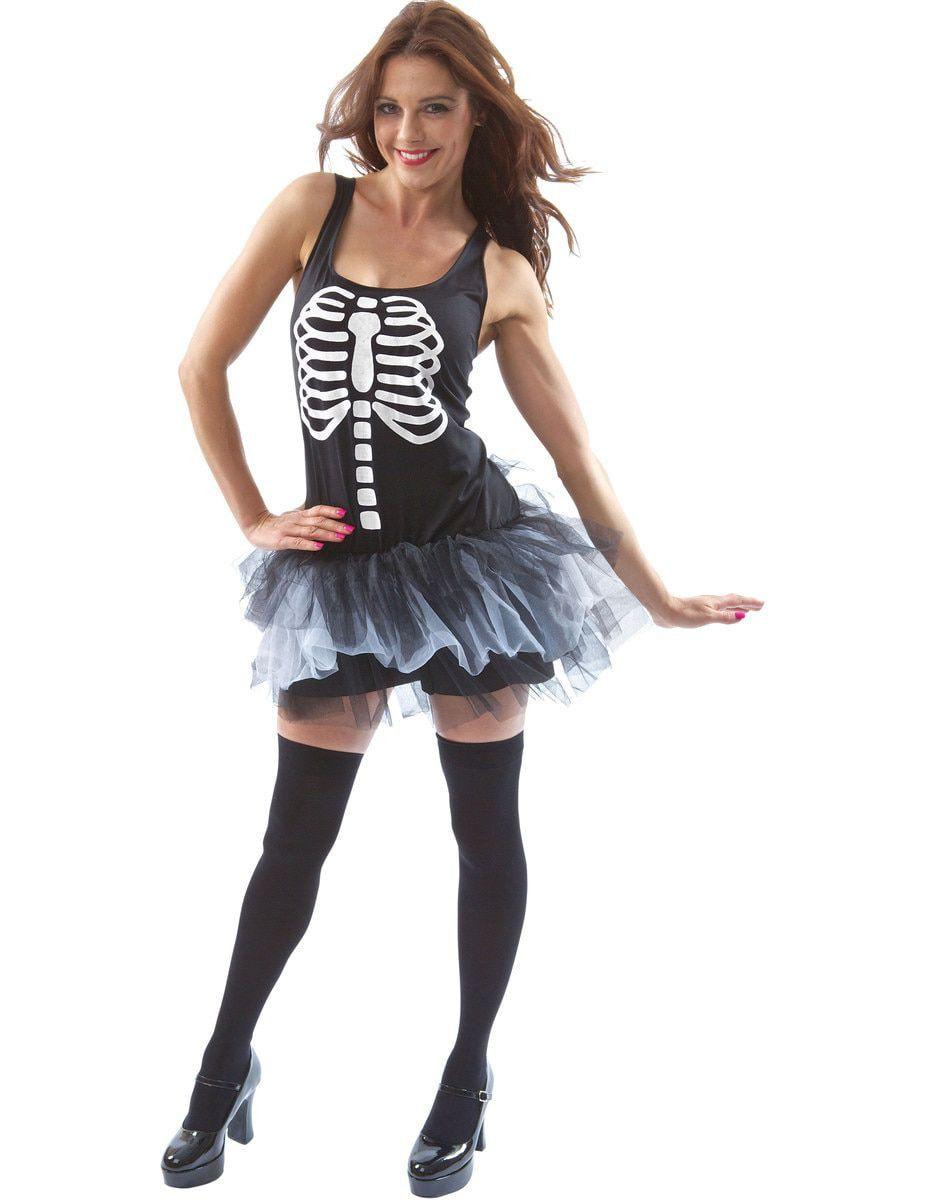 Skelet Tutu Halloween Jurk Vrouw