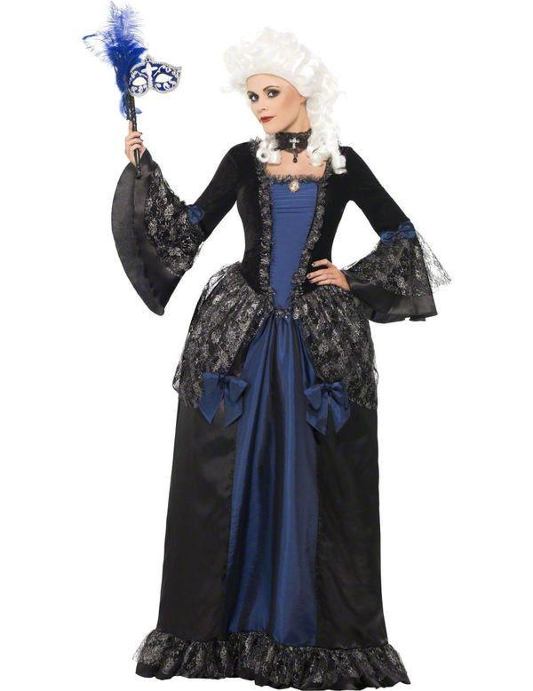 Masquerade Dress Vrouw Kostuum