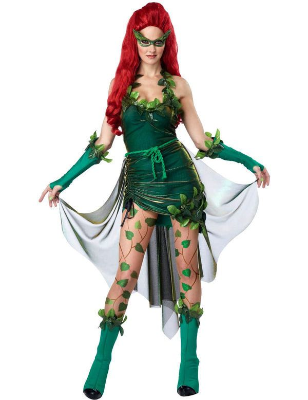 Poison Woman Outfit Vrouw