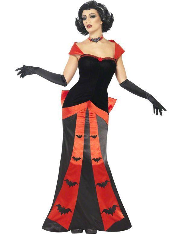 Vampier Jurk Vrouw Kostuum