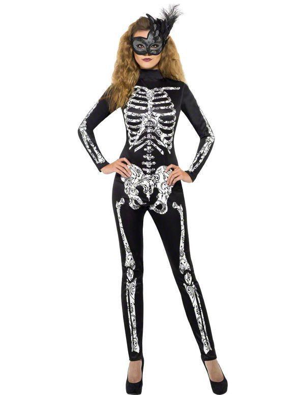 Vrouwelijk Skelet Pak Vrouw