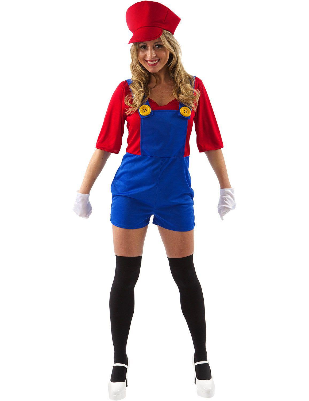 Dames Super Mario Kostuum Vrouw