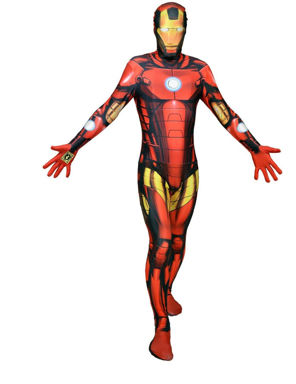 Iron Man Superheld Morphsuit Kostuum