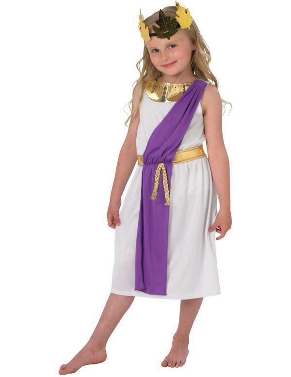 Kinder Romeinse Meisje Kostuum
