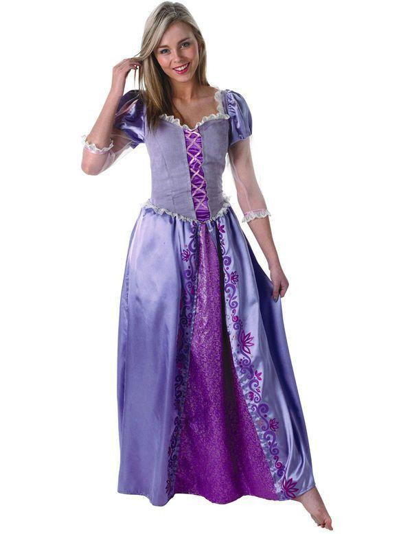 Volwassen Rapunzel Paarse Prinses Jurk Vrouw
