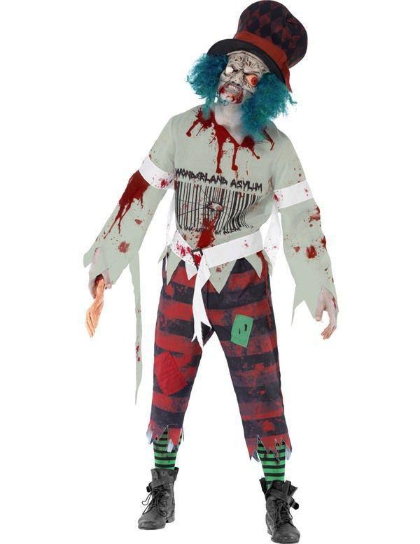 Zombie Matter Hatter Kostuum Man