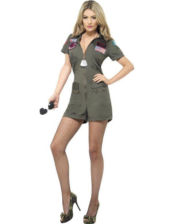 Spannend Top Gun Jurkje Vrouw