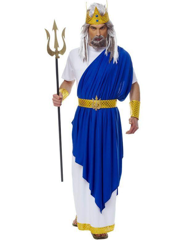 Koning Neptunus Romeins Man Kostuum