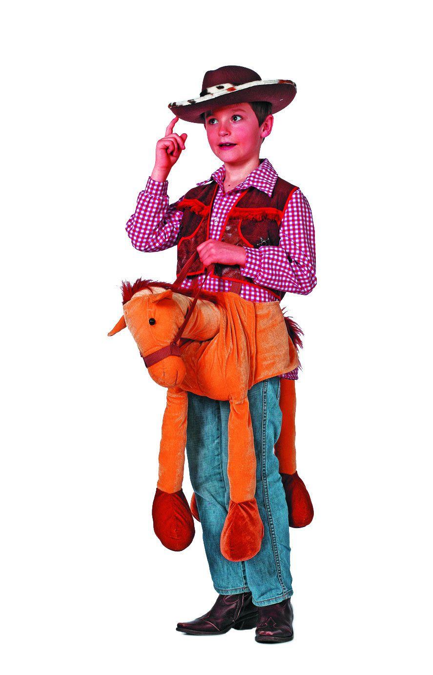 Voorbind Paard Kinderen Kostuum