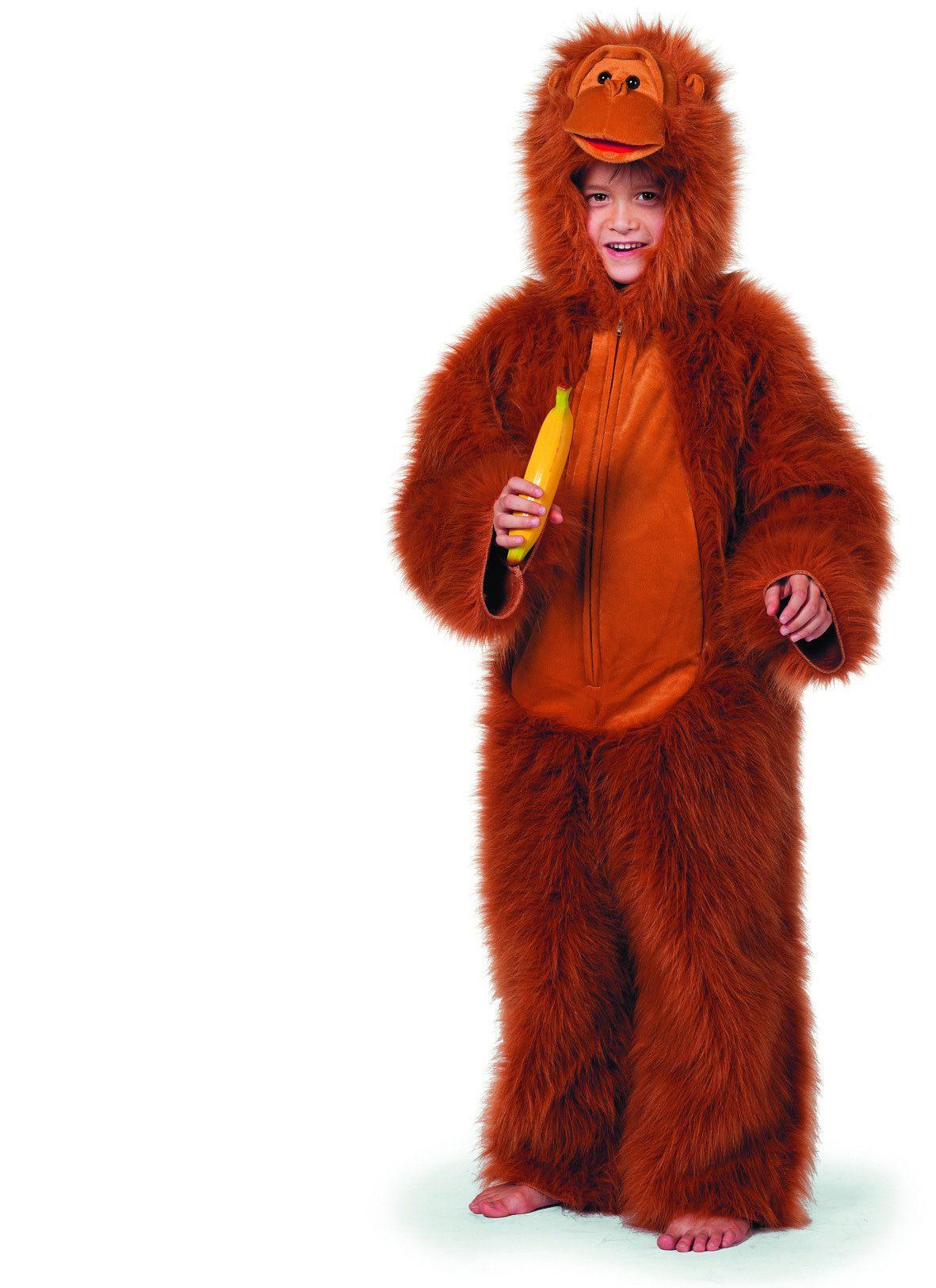 Snoezige Gorilla De Luxe Jongen Kostuum