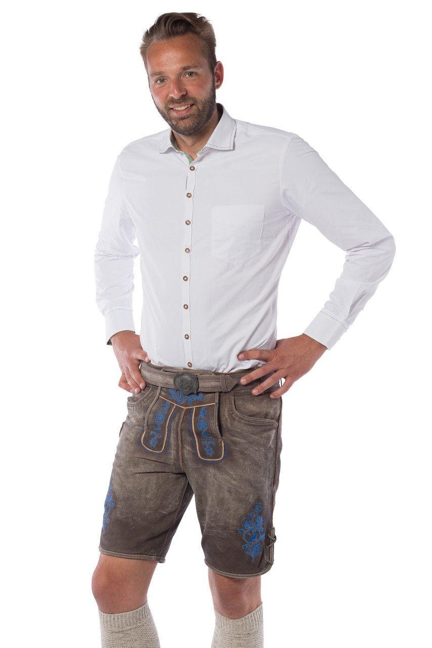 Marnix Maingold Lederhosen Blauw Man