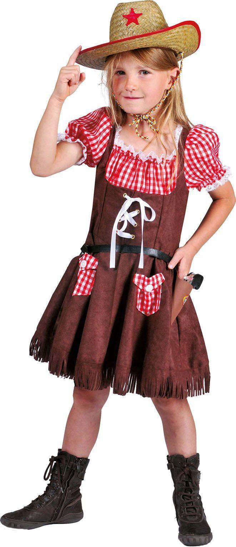 Wild West Meisje Tamara Kostuum