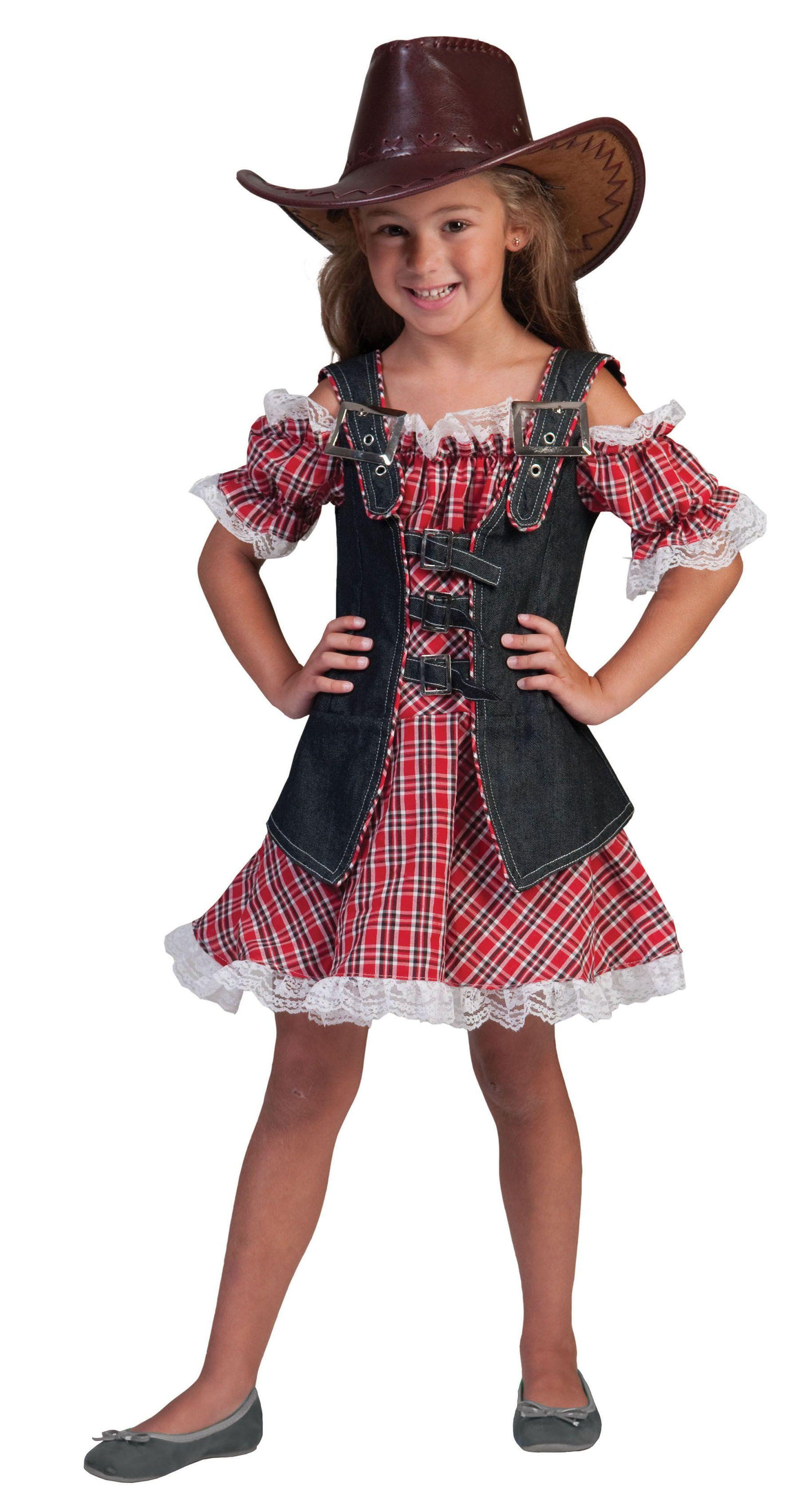 Ranger Cowboy Meisje Kostuum