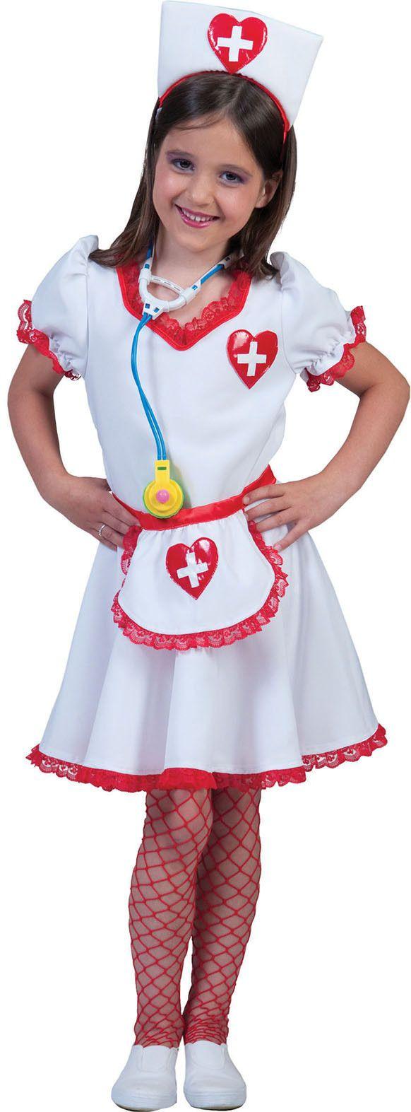 Lisanne De Verpleegster Meisje Kostuum