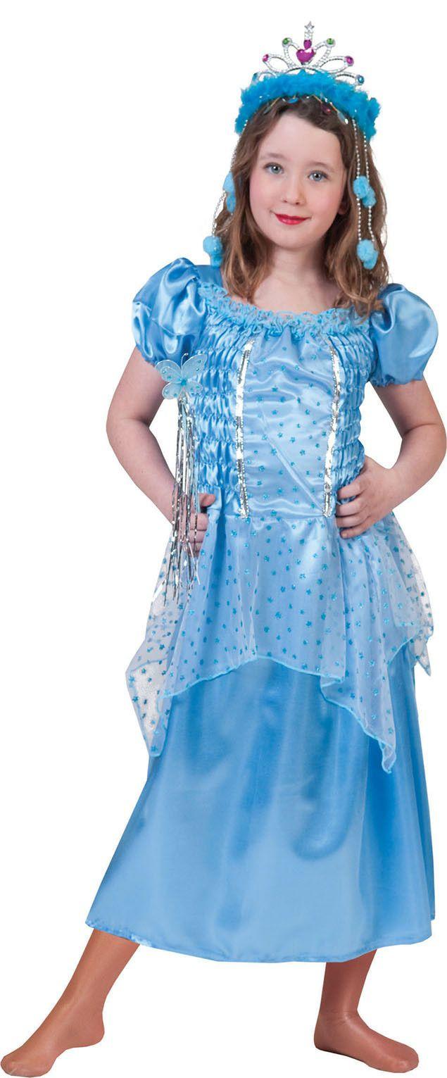 Aqua Prinses Priscilla Meisje Kostuum