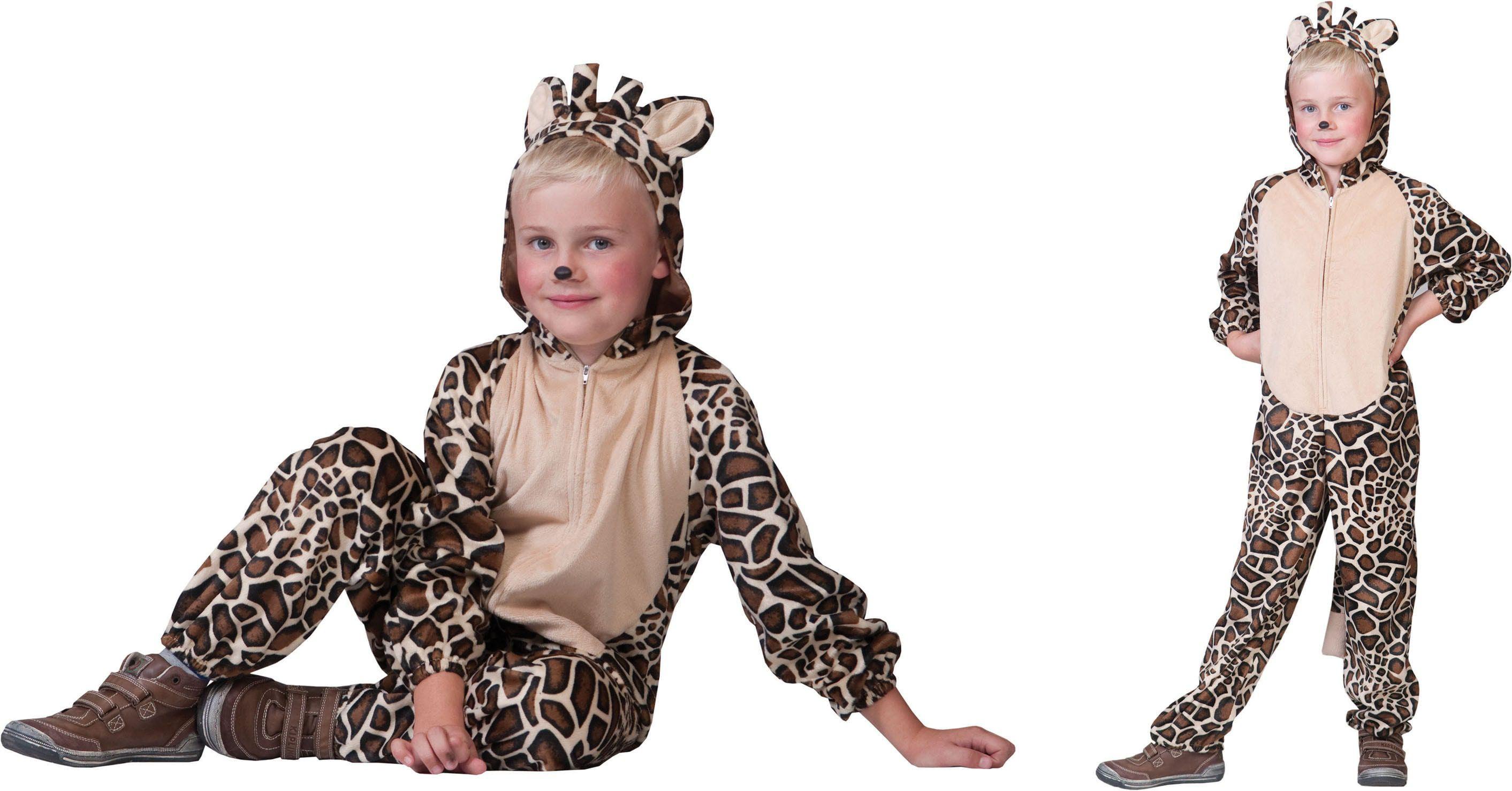 Savanna Giraf Onesie Kostuum