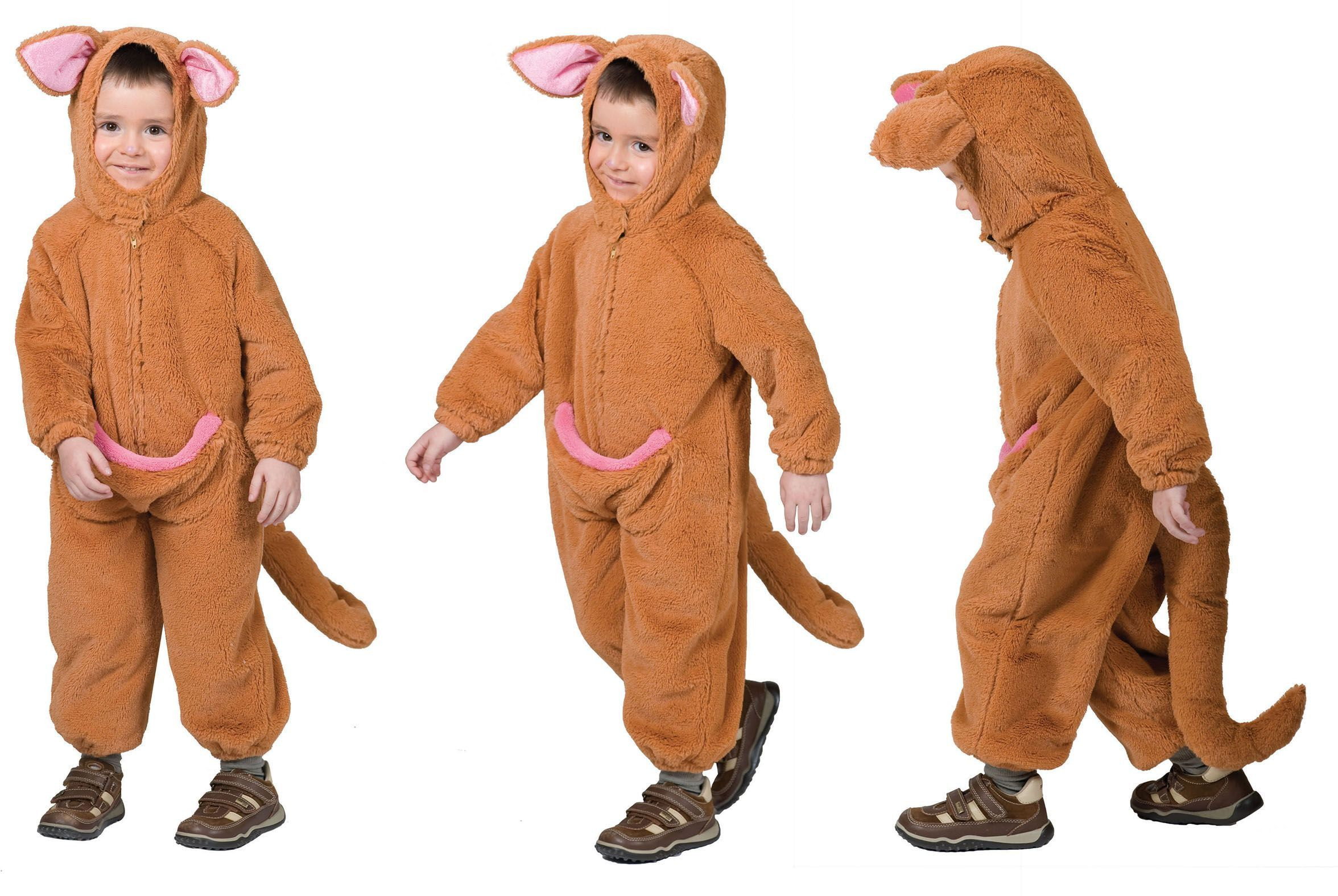 Springerige Kleuter Kangoeroe Kostuum